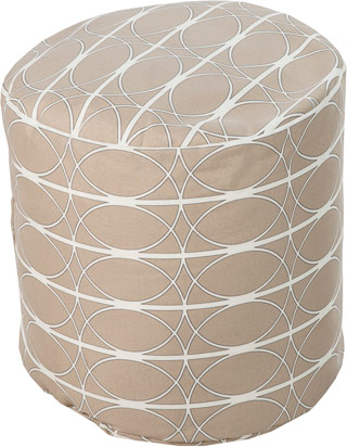 Name:Decorative POUF-192 Rust Red, Item id:1510_pouf-192 (Medium Image)