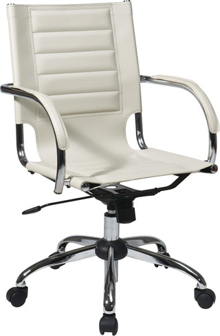Name:Trinidad Office Chair Cream, Item id:8810_TND941A-CRM (Medium Image)