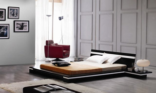 Name:Sonata Platform Bed in Wenge, Item id:9310_image_282 (Medium Image)