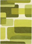 Pop Art 135-63 Green Rug