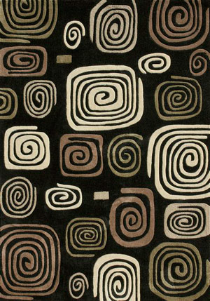 Name:Grant Black - Multi GR-01 Rug, Item id:7510_GR-01_Black_Multi (Medium Image)