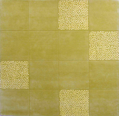 Name:Staccato Yellow Green Rug, Item id:glr_Staccato_Yellow_Green (Medium Image)
