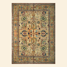Quick Cart Image for Pakistan Zigler Traditional 8' x 10' Hand Knotted Rug